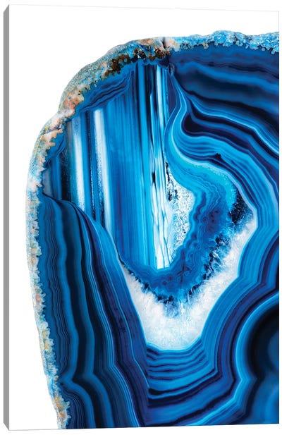 Blue Agate Canvas Art Print