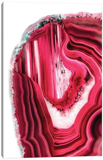 Red Agate Canvas Art Print