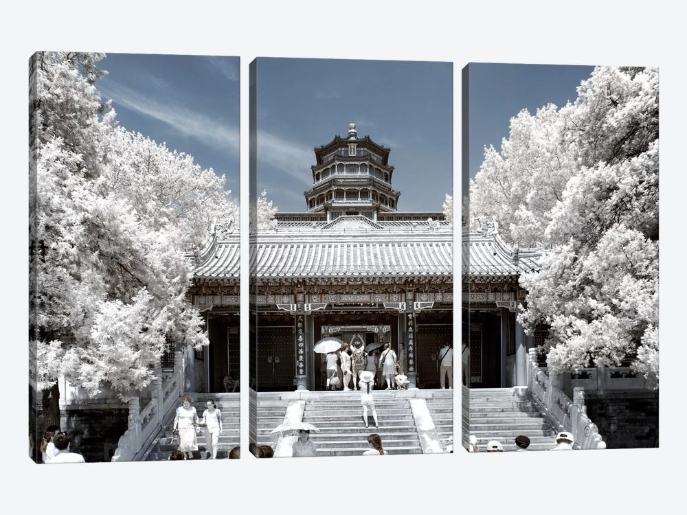 Another Look At China III by Philippe Hugonnard 3-piece Canvas Print