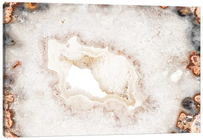 White Agate Canvas Art Print
