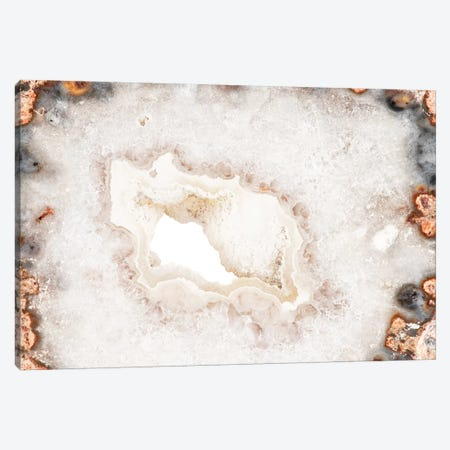 White Agate Canvas Print #PHD973} by Philippe Hugonnard Canvas Wall Art