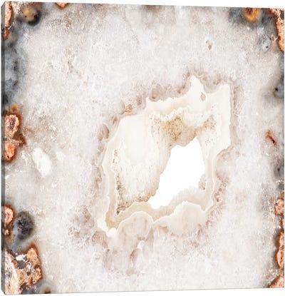 White Agate Canvas Art Print
