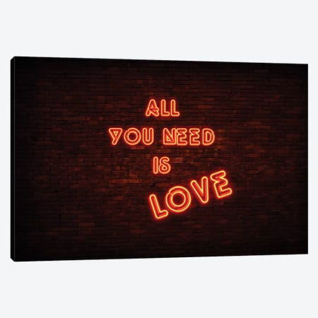 All You Need Is Love Canvas Print #PHD993} by Philippe Hugonnard Canvas Art