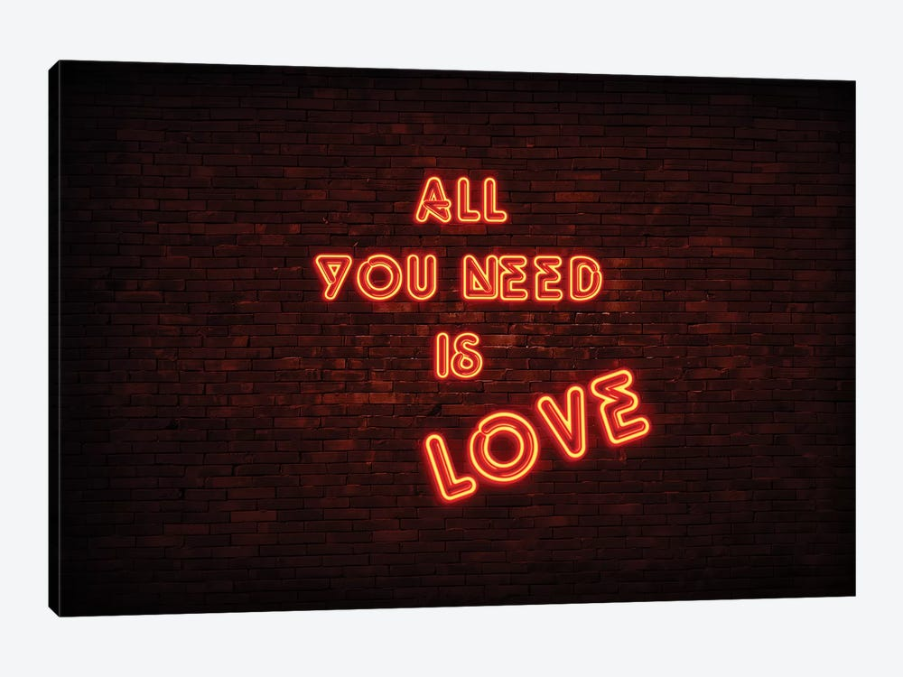 All You Need Is Love by Philippe Hugonnard 1-piece Canvas Art