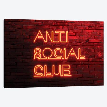 Anti Social Club Canvas Print #PHD994} by Philippe Hugonnard Canvas Print