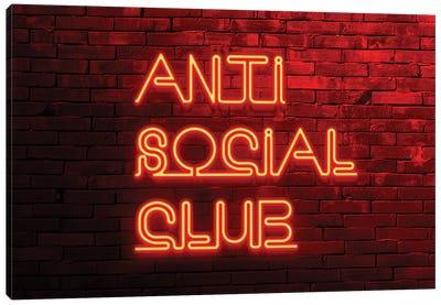 Anti Social Club Canvas Art Print