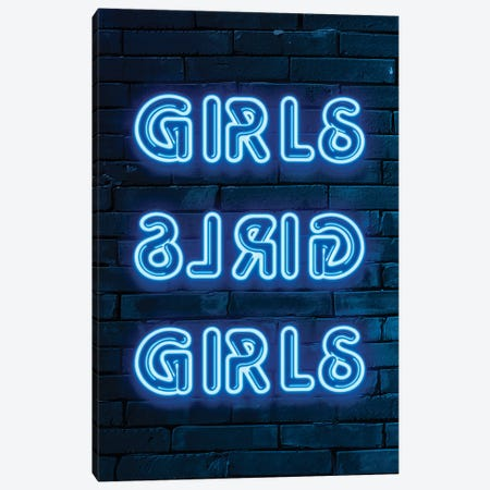Girls Canvas Print #PHD997} by Philippe Hugonnard Canvas Print