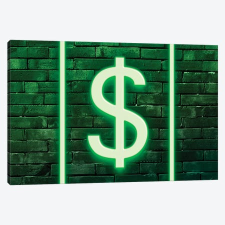Dollars Canvas Print #PHD999} by Philippe Hugonnard Canvas Art