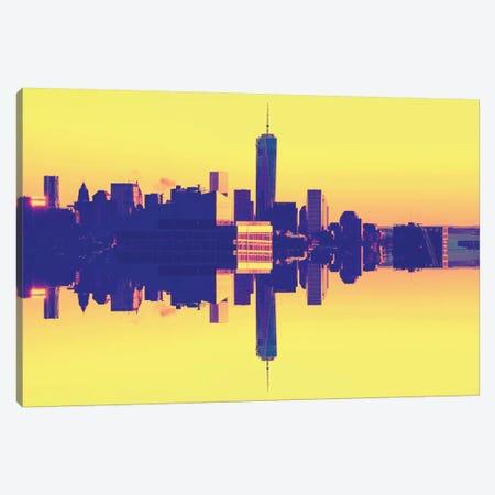 One World Trade Center - Pop Art Canvas Print #PHD9} by Philippe Hugonnard Canvas Art