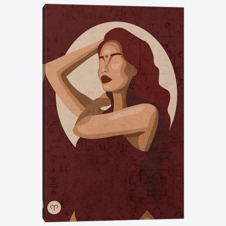 Zodiac Sign   Aries Canvas Print #PHG12} by Phung Banh Canvas Artwork