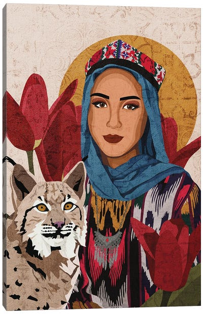 Cultures Celebration | Uyghur Canvas Art Print