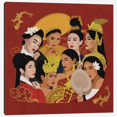 Asian Celebration Canvas Print #PHG20} by Phung Banh Canvas Print