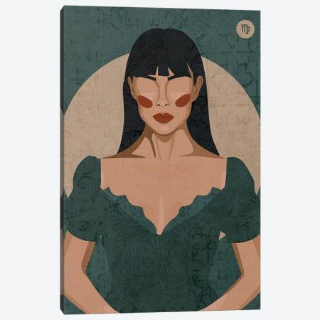 Virgo Canvas Print #PHG2} by Phung Banh Art Print