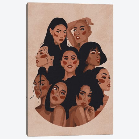 A Tribe Of Women Canvas Print #PHG33} by Phung Banh Canvas Art