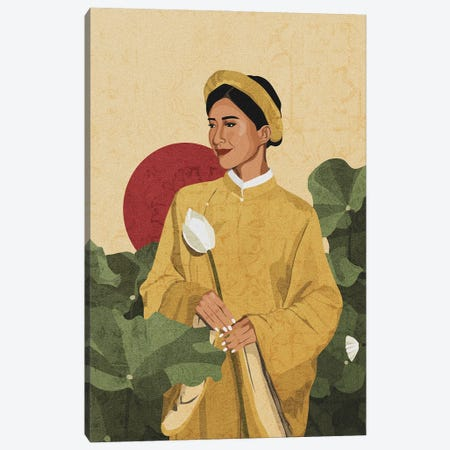 Cultures Celebration | Vietnam Canvas Print #PHG35} by Phung Banh Canvas Print