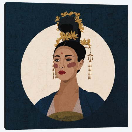 Cultures Celebration | Chinese Canvas Print #PHG41} by Phung Banh Canvas Print
