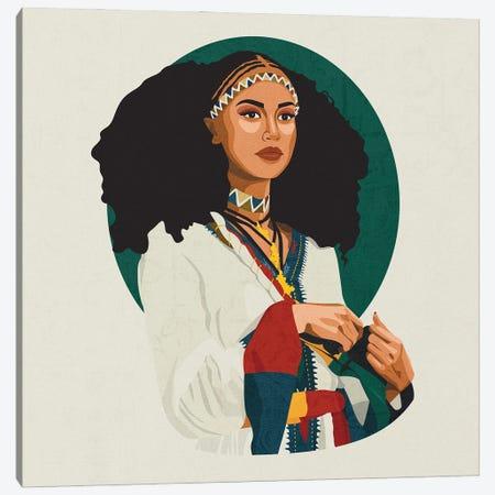 Cultures Celebration   Ethiopian Canvas Print #PHG42} by Phung Banh Canvas Art Print