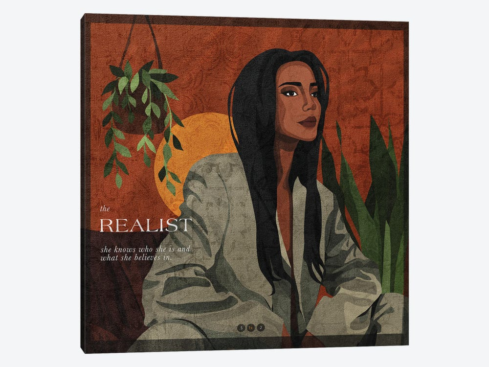 The Realist by Phung Banh 1-piece Canvas Art
