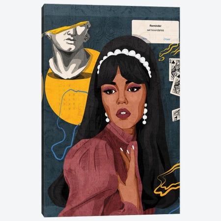 Set Boundaries Canvas Print #PHG65} by Phung Banh Canvas Wall Art