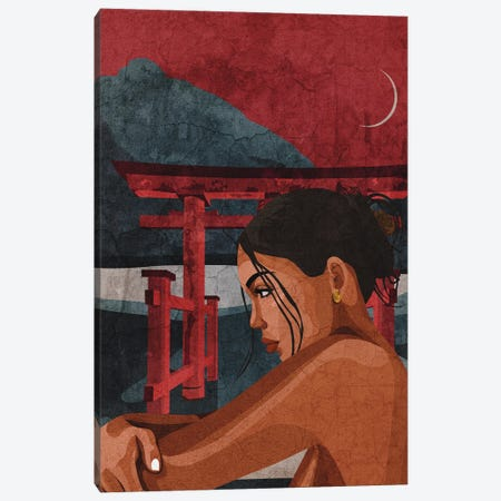 Reflecting Canvas Print #PHG68} by Phung Banh Canvas Art Print