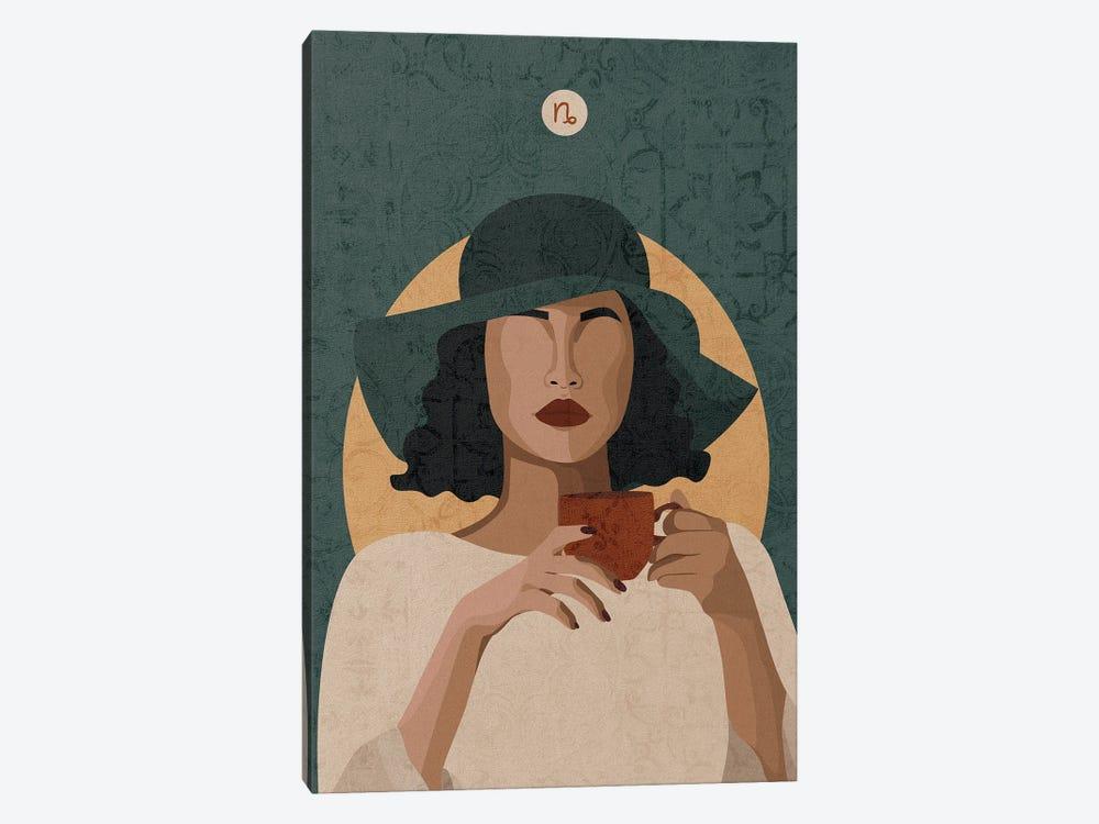 Capricorn by Phung Banh 1-piece Canvas Art Print