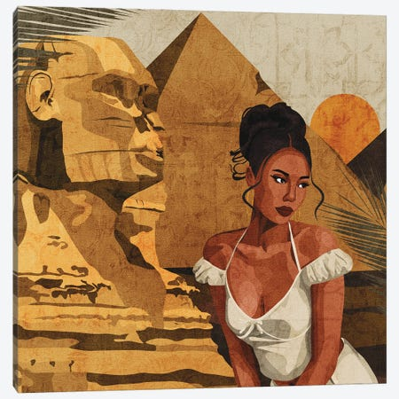 Somewhere In Egypt Canvas Print #PHG73} by Phung Banh Canvas Artwork
