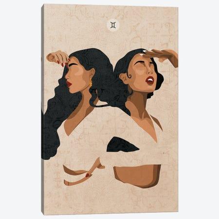 Gemini Canvas Print #PHG7} by Phung Banh Canvas Wall Art