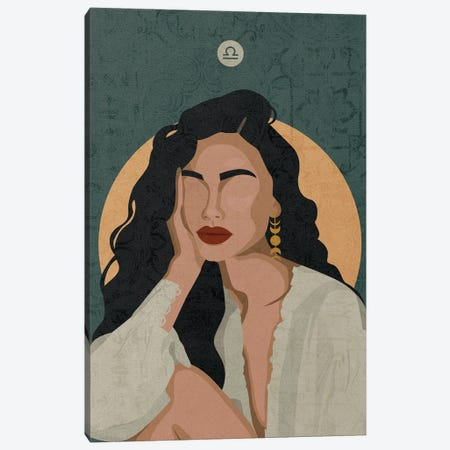 Libra Canvas Print #PHG9} by Phung Banh Canvas Print