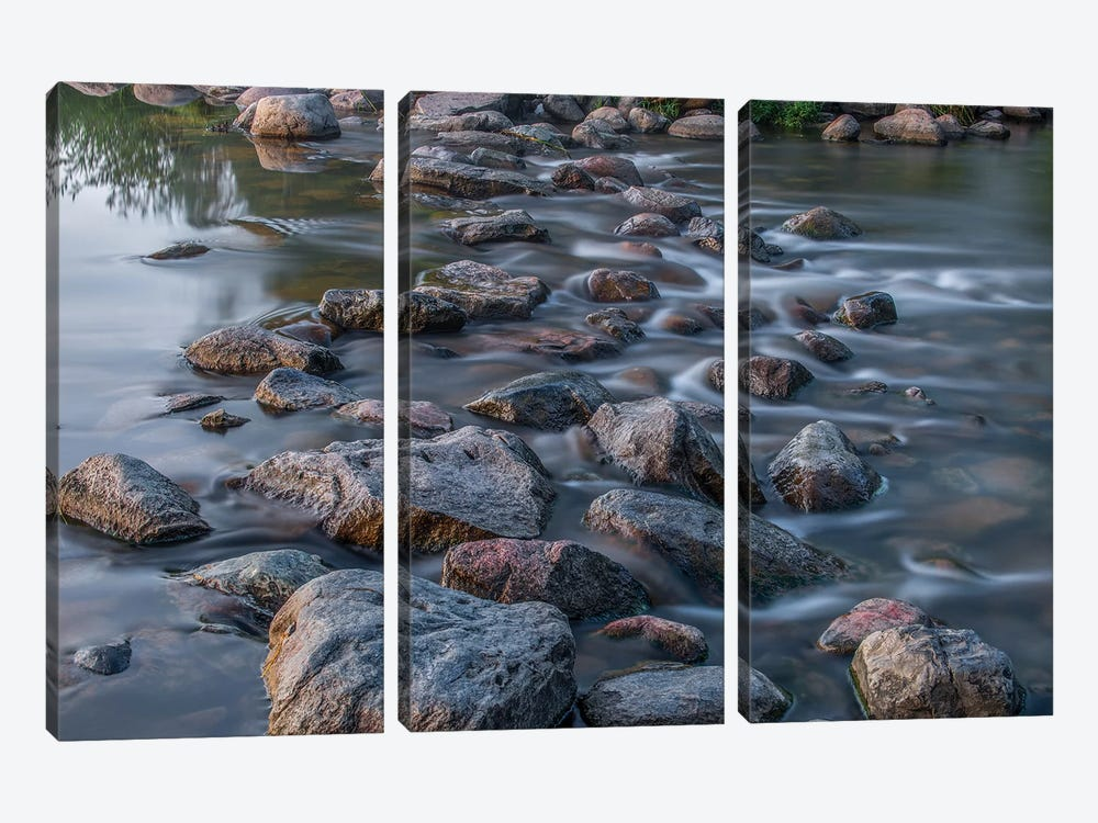 USA, Minnesota, Itasca State Park II by Peter Hawkins 3-piece Canvas Art