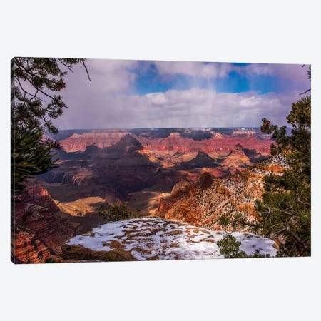 USA, Arizona, Grand Canyon National Park South Rim Canvas Print #PHK12} by Peter Hawkins Canvas Art