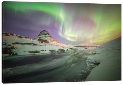 Kirkjufell Curves Iceland Canvas Art Print