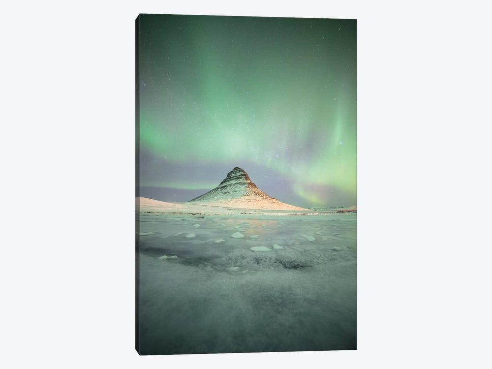 Kirkjuffel Mountain In Iceland by Philippe Manguin 1-piece Canvas Artwork
