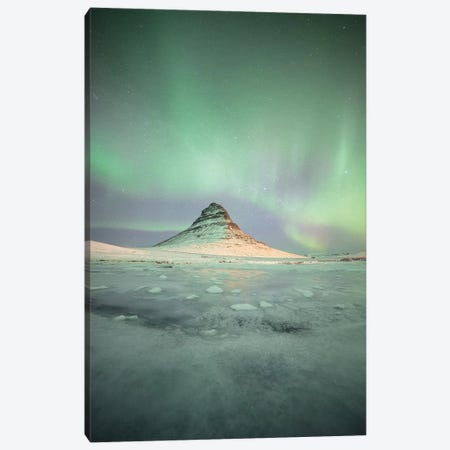 Kirkjuffel Mountain In Iceland Canvas Print #PHM115} by Philippe Manguin Canvas Art Print