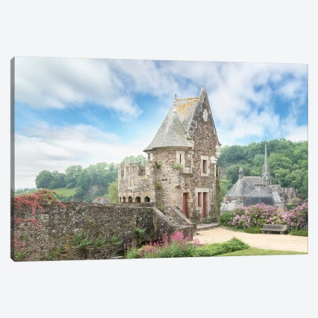 Le Chateau De Fougeres En Bretagne Canvas Print #PHM121} by Philippe Manguin Art Print