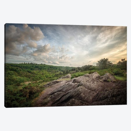 Le Val Sans Retour Un Soir De Mai Canvas Print #PHM127} by Philippe Manguin Canvas Wall Art