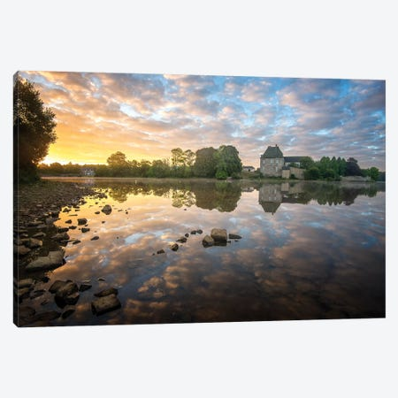 Magic Morning Canvas Print #PHM134} by Philippe Manguin Canvas Art Print