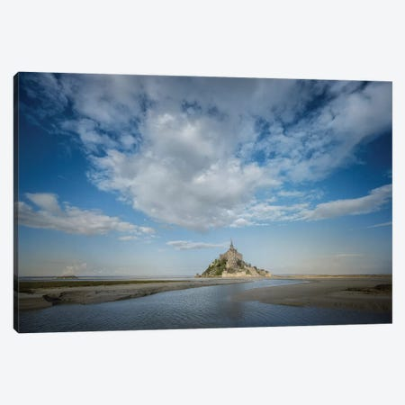 Mont Saint Michel Canvas Print #PHM136} by Philippe Manguin Canvas Art Print