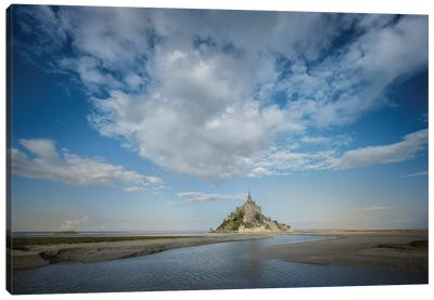 Mont Saint Michel Canvas Art Print