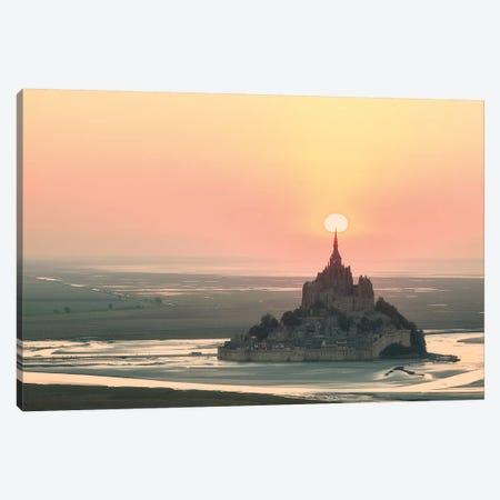 Mont Saint Michel Target Canvas Print #PHM149} by Philippe Manguin Canvas Print