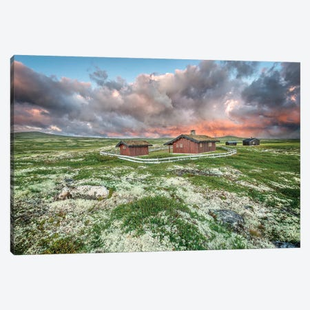 Norway, After The Storm Canvas Print #PHM154} by Philippe Manguin Art Print