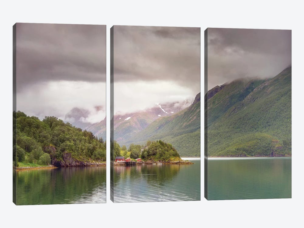 Norway Of Life by Philippe Manguin 3-piece Canvas Art Print