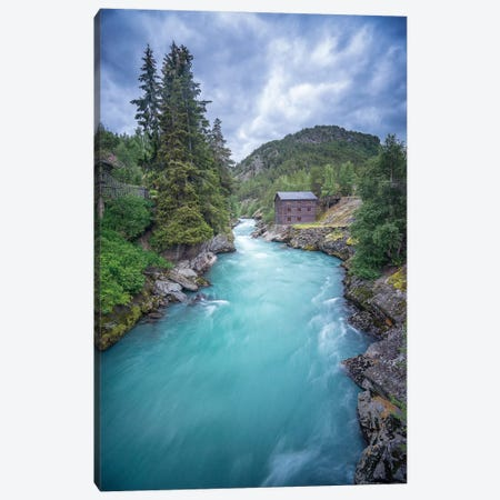 Norway River Canvas Print #PHM157} by Philippe Manguin Art Print