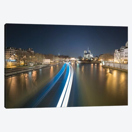 Notre Dame De Paris Canvas Print #PHM158} by Philippe Manguin Canvas Artwork