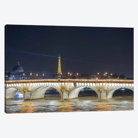 Paris - Pont Neuf Canvas Print #PHM169} by Philippe Manguin Canvas Art Print