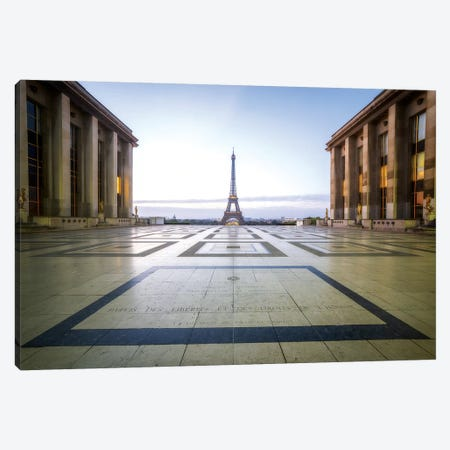 Paris Trocadéro Canvas Print #PHM177} by Philippe Manguin Canvas Print
