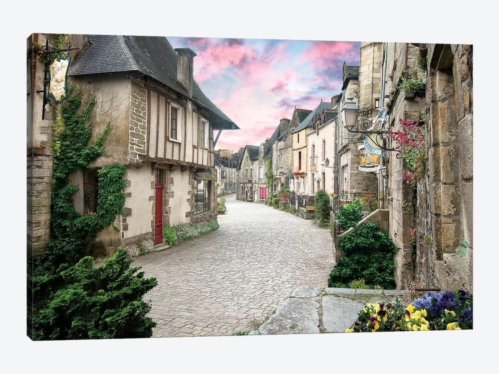 Rochefort En Terre En Bretagne by Philippe Manguin 1-piece Canvas Wall Art