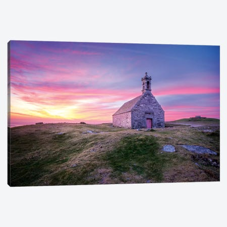 Saint Michel De Brasparts Church II Canvas Print #PHM187} by Philippe Manguin Canvas Art