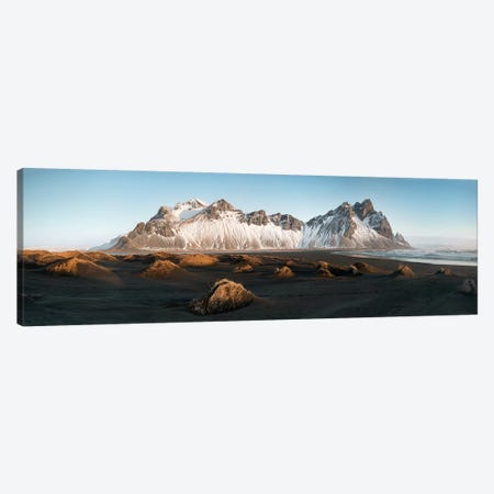 Stockness Panoramic In Iceland Canvas Print #PHM189} by Philippe Manguin Canvas Art Print