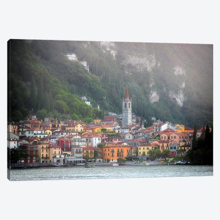 Varenna City In Italy Canvas Print #PHM225} by Philippe Manguin Canvas Art Print