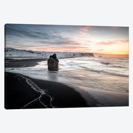 Vik Dyrhólaey In Iceland Canvas Print #PHM228} by Philippe Manguin Canvas Wall Art